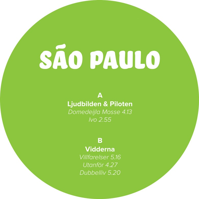 Image of [NSRD011]<br>Various Artists<br>Sãu Paulo<br>12""