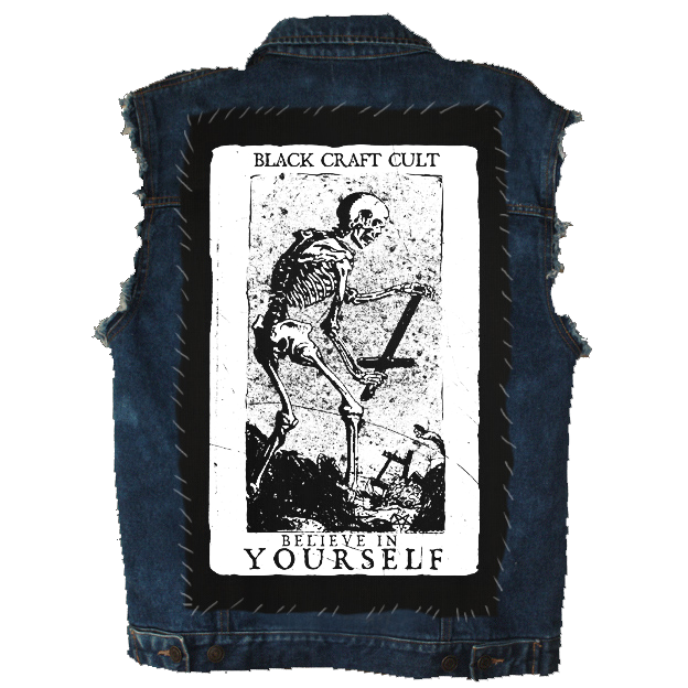 Image of Believe In Yourself Tarot - Back Patch