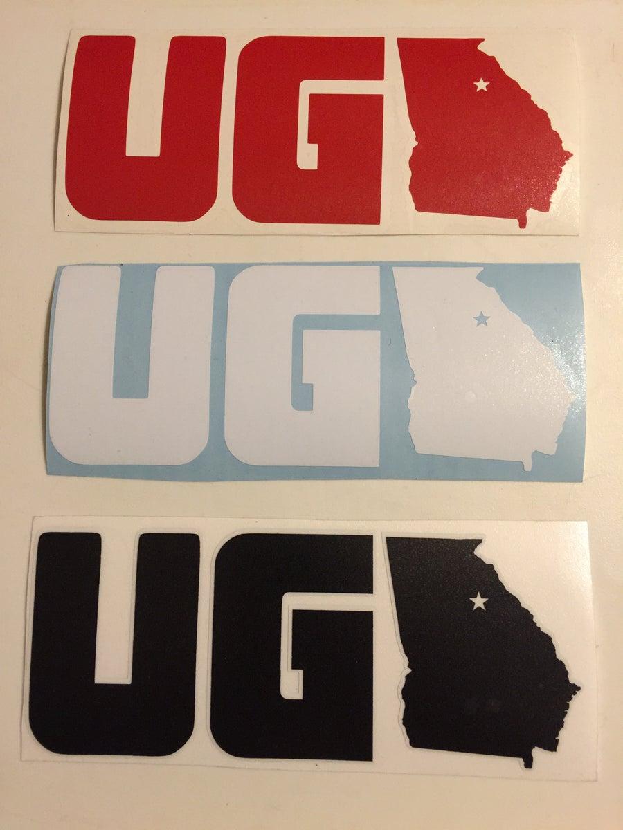 Image of UGA Stickers