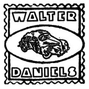 """Image of WALTER DANIELS - """"Almost Hit by A Truck"""" b/w """"My Mind Got Bad"""" 7"""" (Spacecase)"""