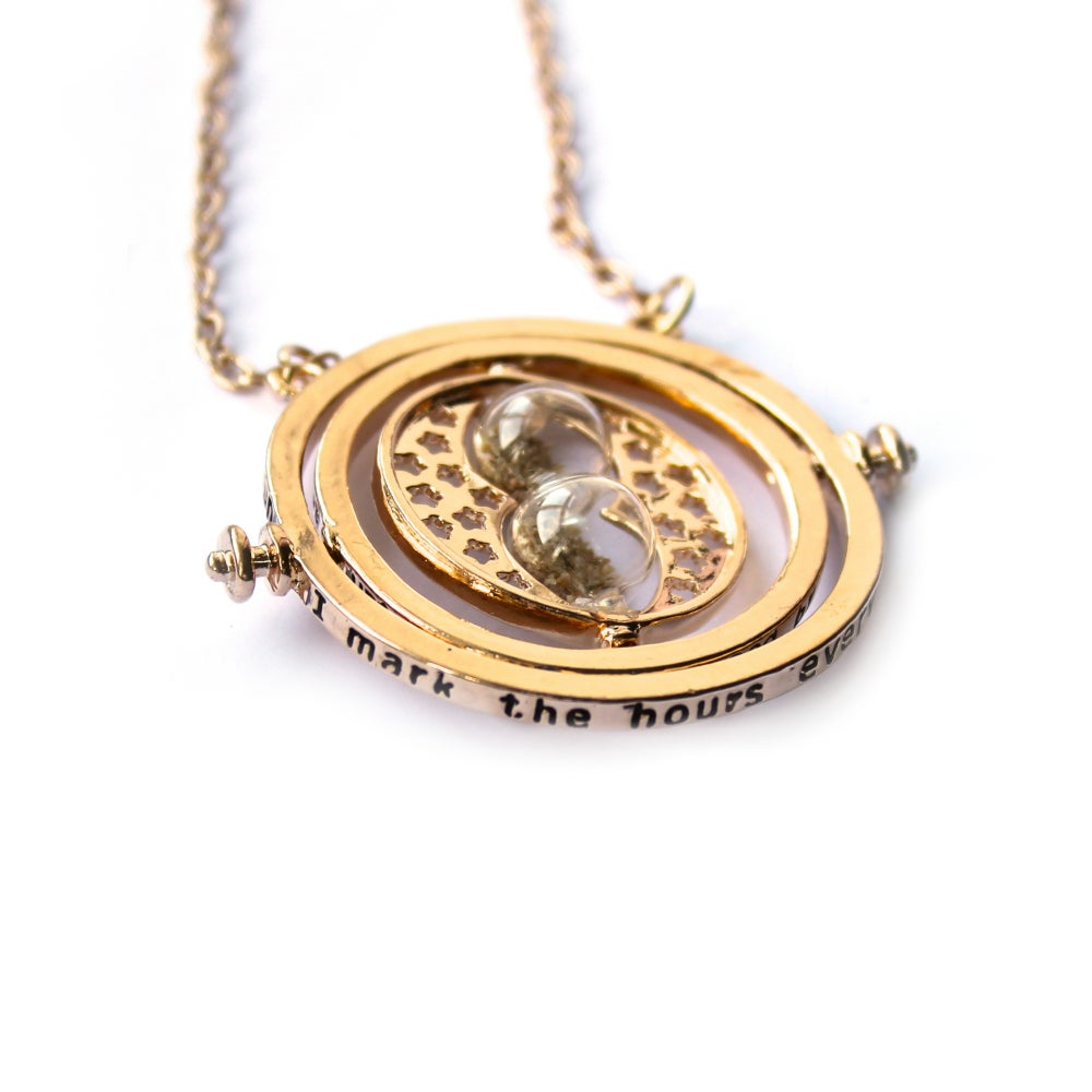 Image of HERMIONE'S TIME-TURNER INSPIRED NECKLACE