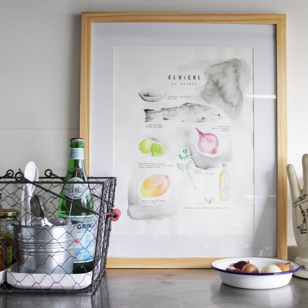 Image of ART PRINT | CEVICHE