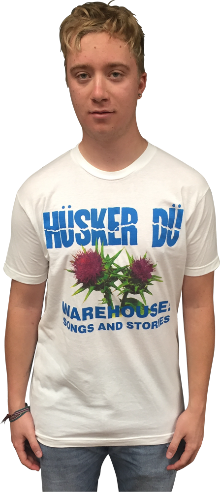 Image of HÜSKER DÜ: THISTLE T-SHIRT