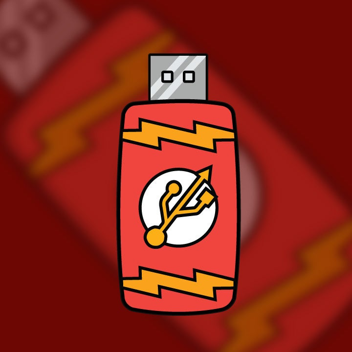 Image of The Flash [Drive] Pin