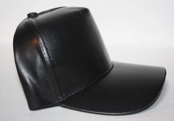 Image of Faux Leather hat