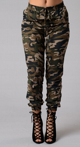 Image of FASHION CUTE PANTS GREEN PANTS