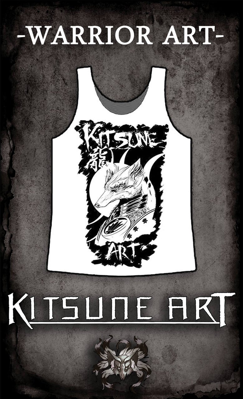 Image of Warrior Art Vest T-Shirt for Men/Women