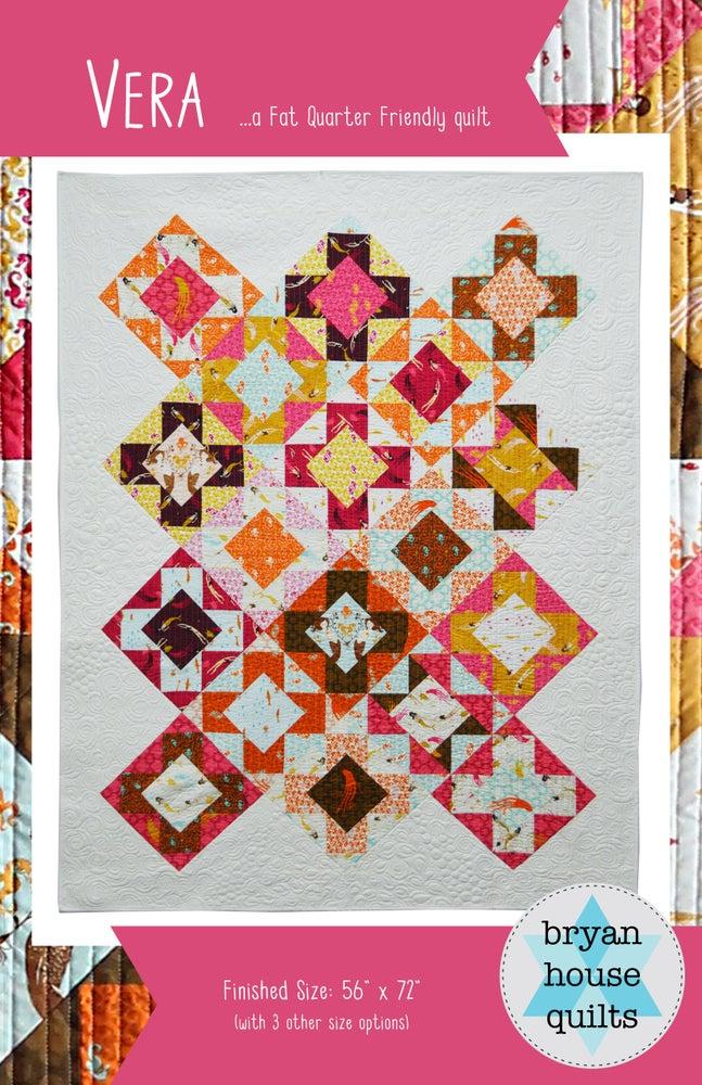 Image of Vera Quilt {Paper Pattern}