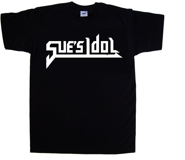 "Image of Sue's Idol ""new"" Logo T-Shirt"