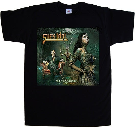Image of Sue's Idol Six Sick Senses T-Shirt