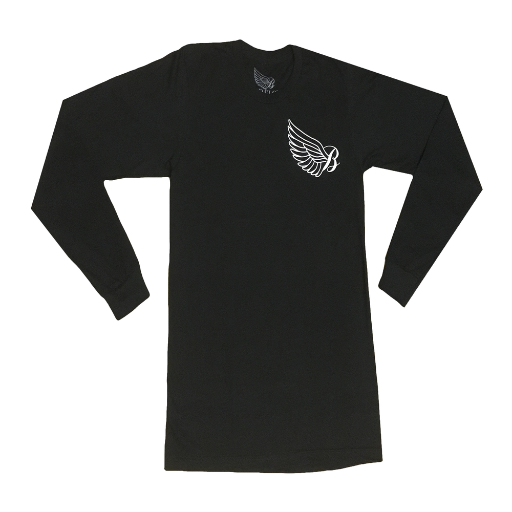 Image of Black Original Long Sleeve