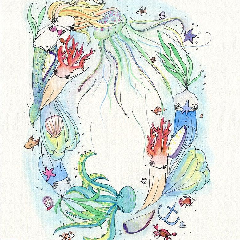 Image of 'Under the Sea-dream' Fine art print