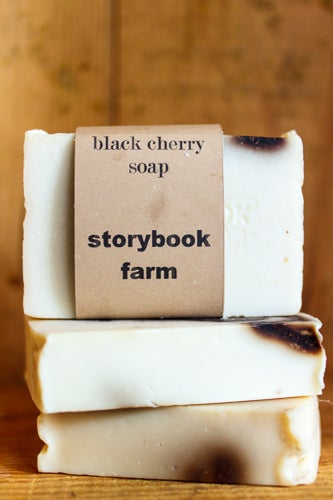 Image of Black Cherry Soap