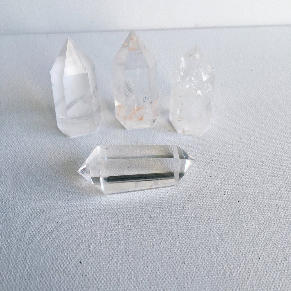 Image of QUARTZ Points :: Polished