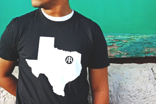 "Image of Black ""Heart of Texas"" Tee"