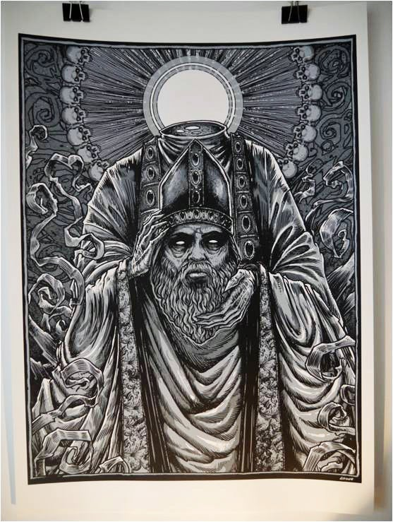 Image of The Headless Saints #1 'Old Man' by GODMACHINE