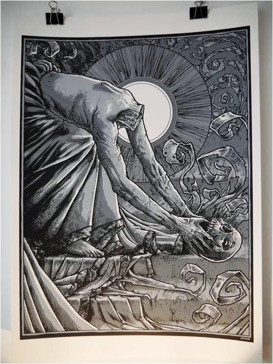 Image of The Headless Saints #2 'Skull' by GODMACHINE