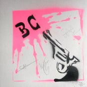 "Image of Limited Edition Hand Sprayed 7"" Vinyl Sleeve (SIGNED)"