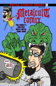 Image of METALCULT COMIX #6 1ST PRINT