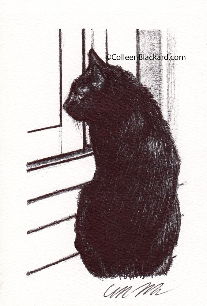Image of Cat Cards: Silhouette