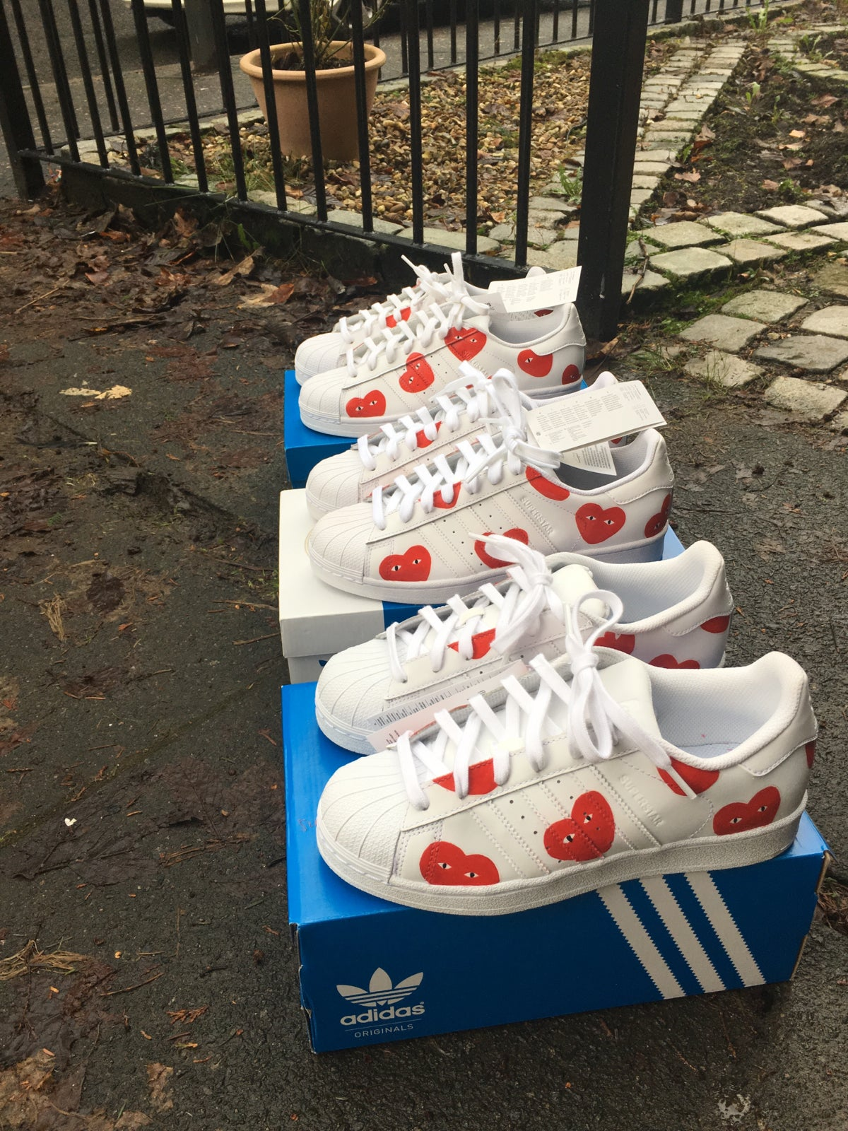 Adidas Superstar X Neighborhood Pound for Pound P4P Shoes