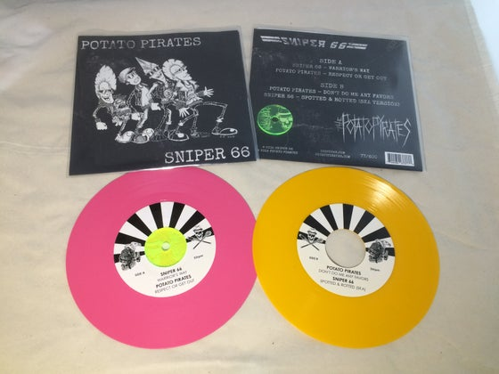 Image of POTATO PIRATES / SNIPER 66 SPLIT 7""