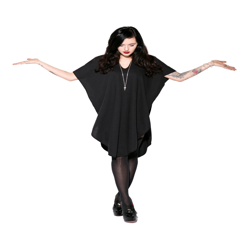 Image of Black Widow - Poncho