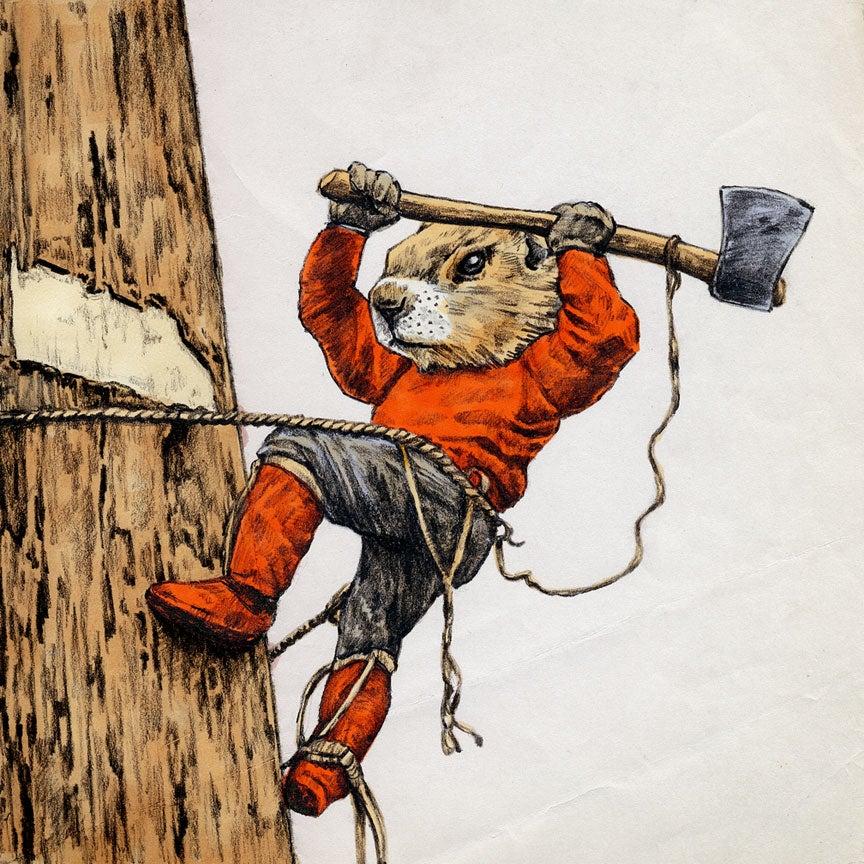 "Image of ""Lumberjack Marmot"""