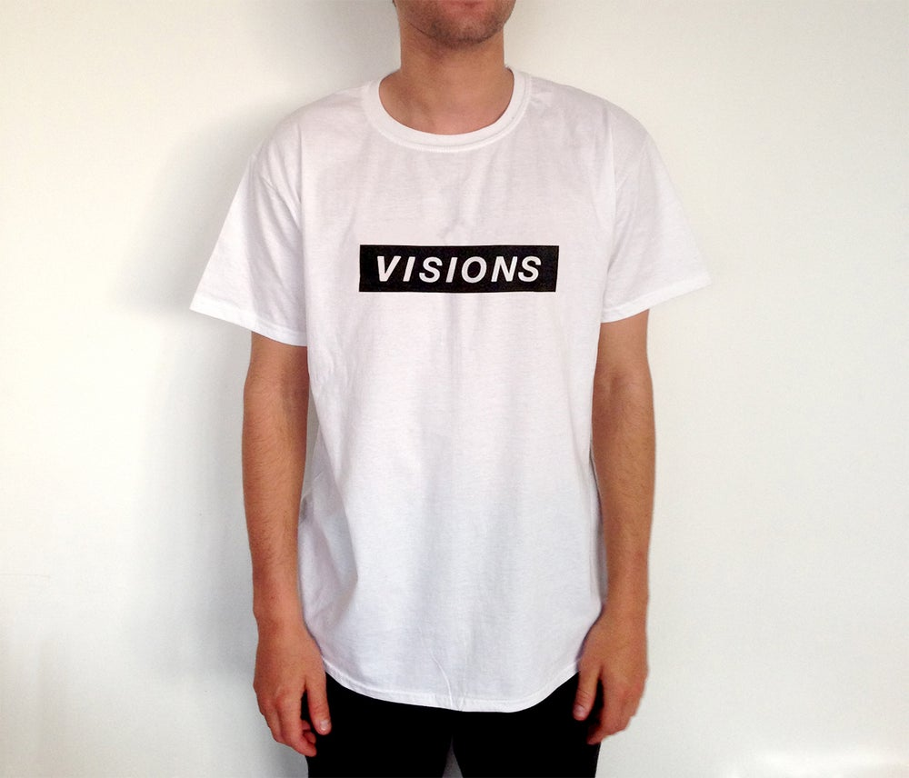 Image of Black Print Tee