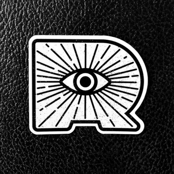 Image of Ryclops White Sticker