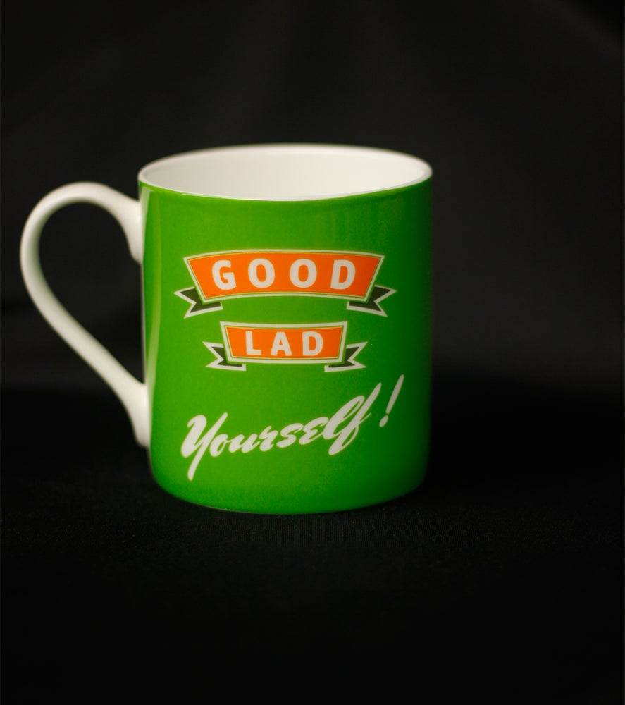 Image of Good lad yourself. Mug