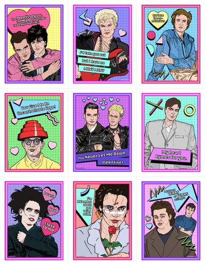 Image of New Wave Valentine's Day Card Pack (2016)