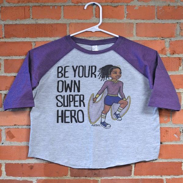 Image of Superhero GIrl T-Shirt and Hoodie