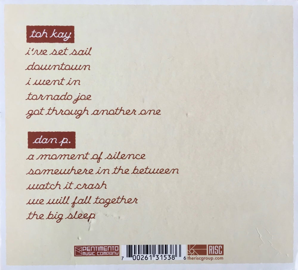 Image of Dan P. and Toh Kay- You By Me CD