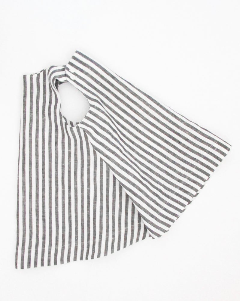Image of wyeth dress- grey stripe
