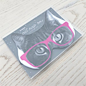 Image of gee whiskers series: cat nap sleep mask