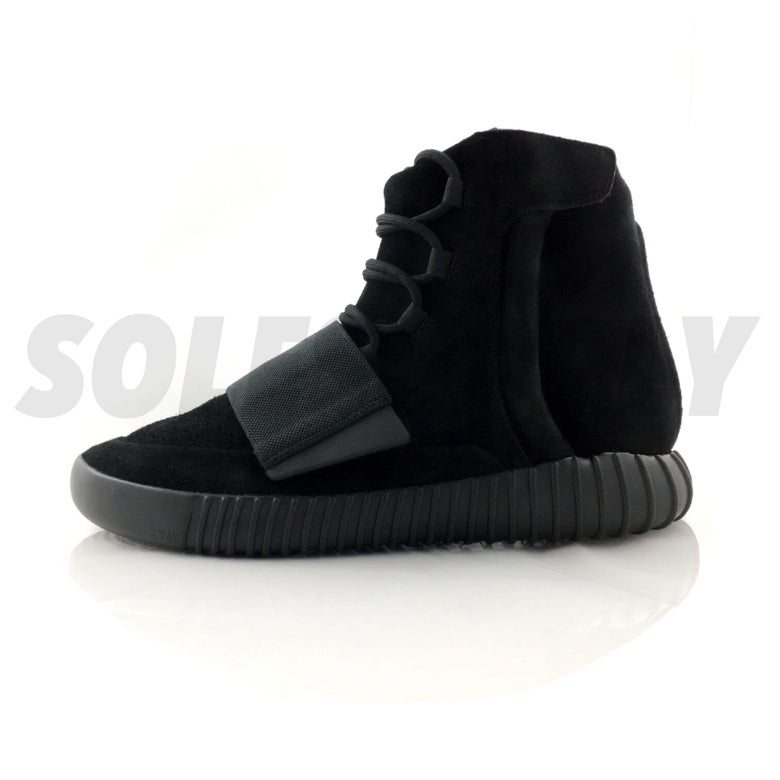 "Image of Adidas Yeezy 750 Boost ""Triple Black"""