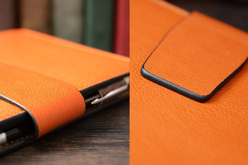 Image of Custom Handmade Vegetable Tanned Italian Leather A5 Notebook Journal Book Diary Book D049