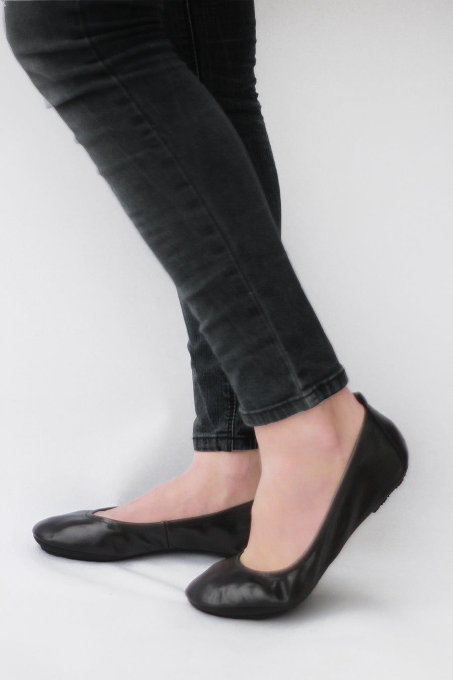Image of Ballet flats Foldable - Simply Me in Lustrous Black