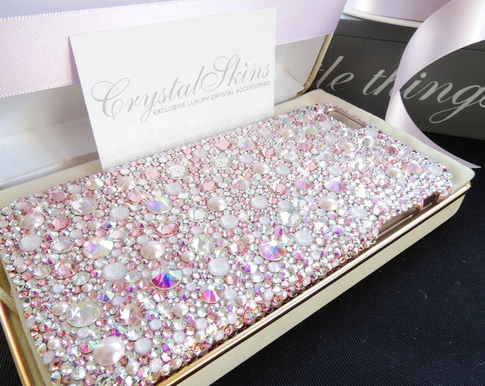 Image of Lavish Blush Fully Covered Case with Crystals by Swarovski®