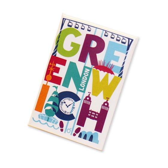 Image of Greenwich Fridge Magnet
