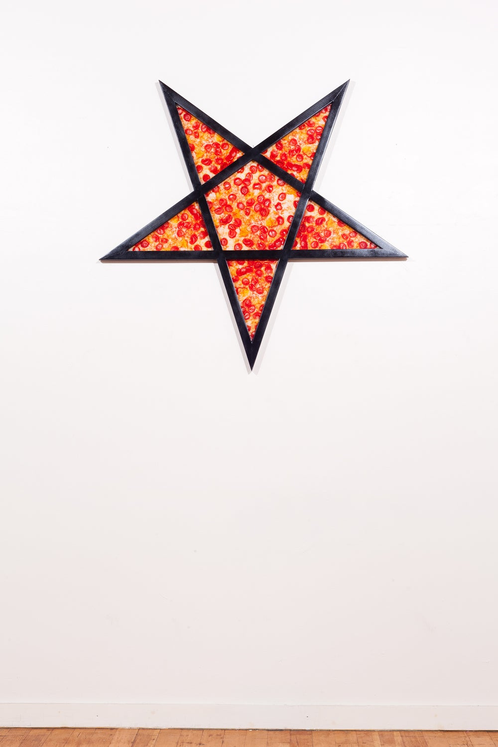 Image of Hand Made -Redwood- Pizza Pentagram
