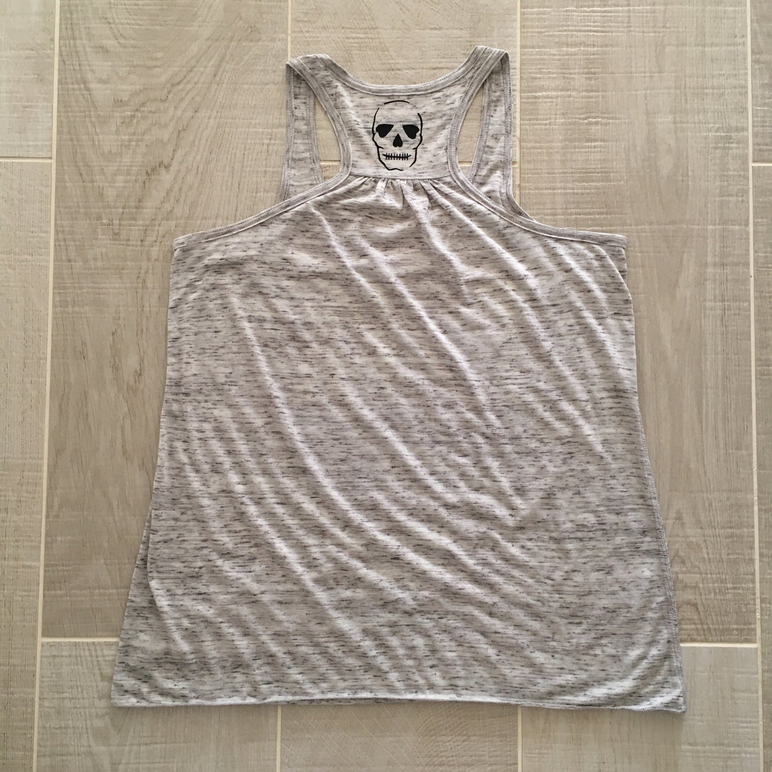Image of Anti Fitspo - Light Grey and yellow