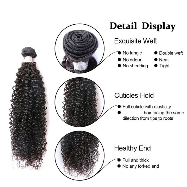 Image of Brazilian Hair Kinky Curly #10511