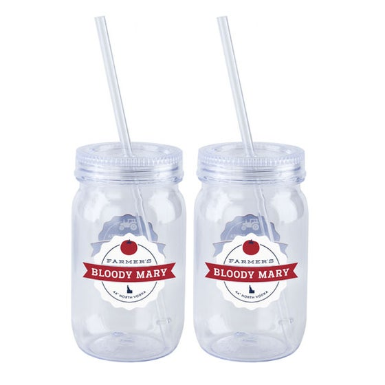Image of Farmer's Bloody Mary Tumblers - Set of 4