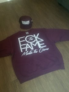 Image of FCK The FAME crew neck sweater