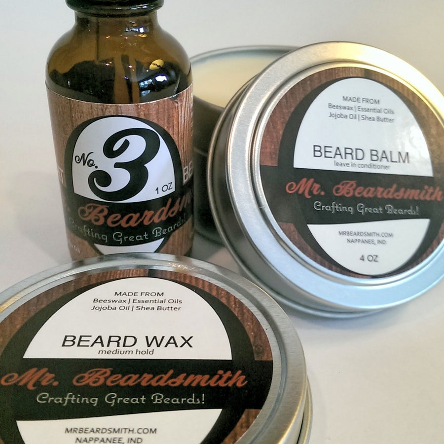 Image of Master Gentleman's Beard Set