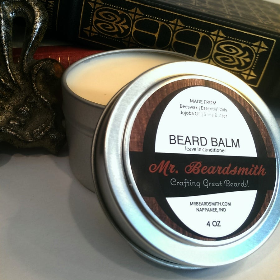 Image of Beard Balm 4oz Leave In Conditioner