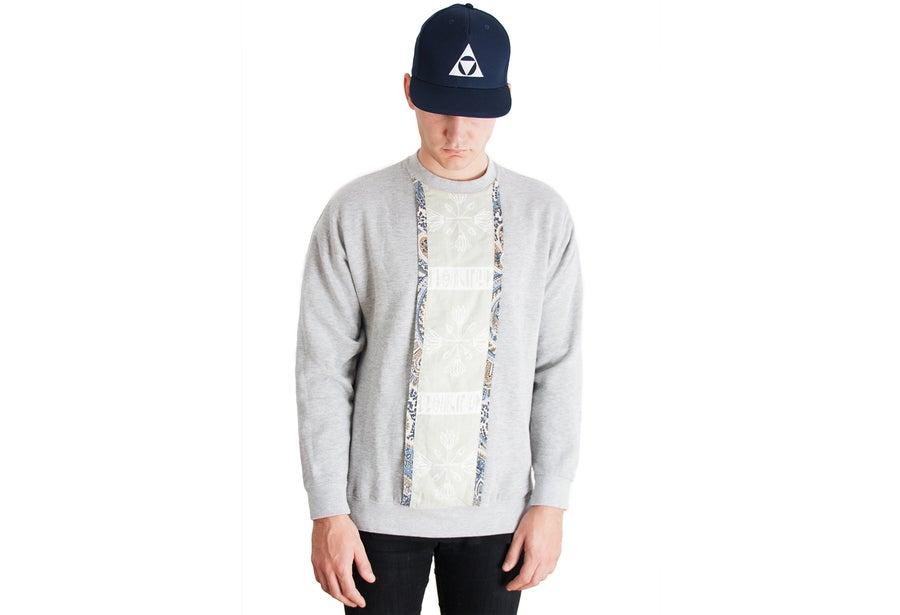 Image of LANGOR ''KENAMUN'' Crew neck sweater.