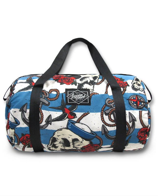 Image of Nautical Skull Duffle Bag